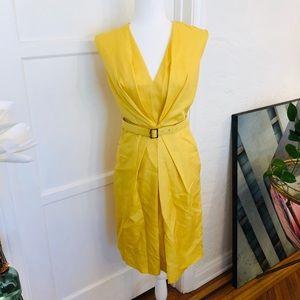 Salvatore Ferragamo Canary Yellow Dress